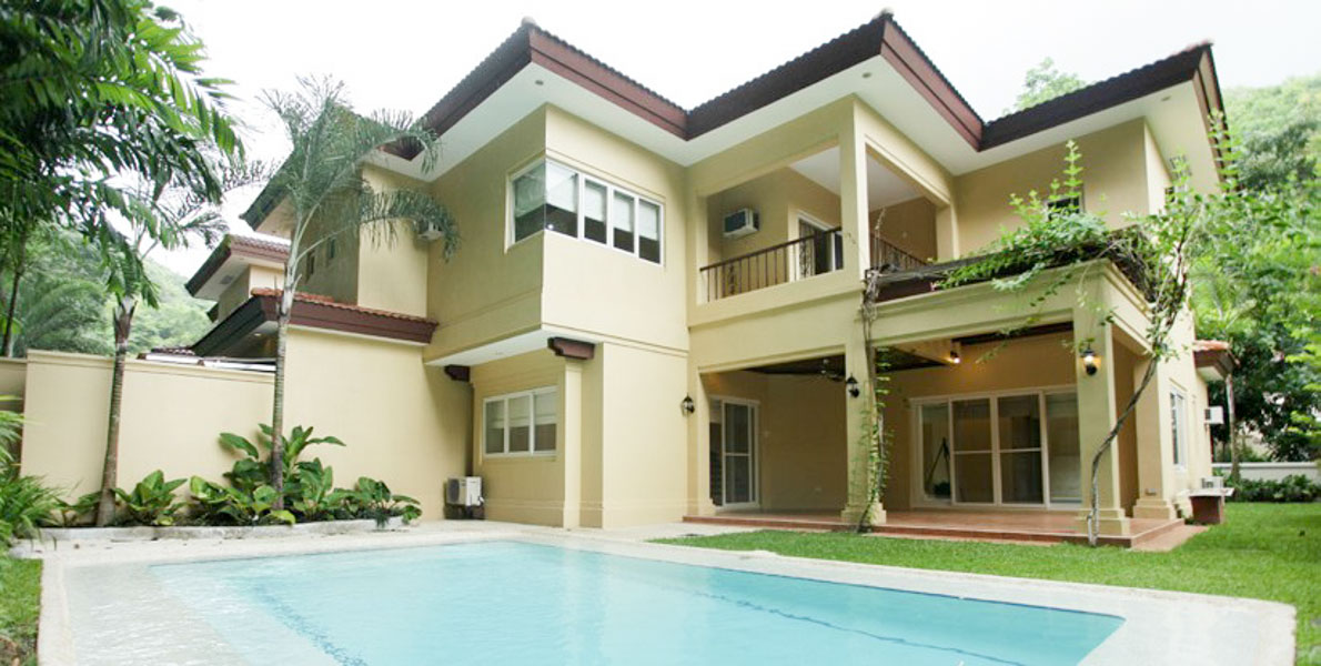 Modern house for rent in maria luisa cebu grand realty for Modern house for rent