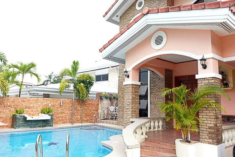 Beautiful house for rent in cebu cebu grand realty for House with swimming pool for rent in quezon city
