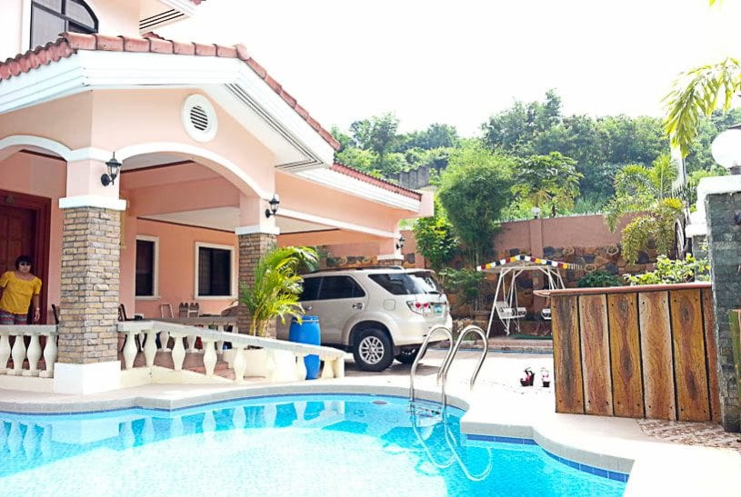 Beautiful house for rent in cebu cebu grand realty - Houses with swimming pools for rent ...