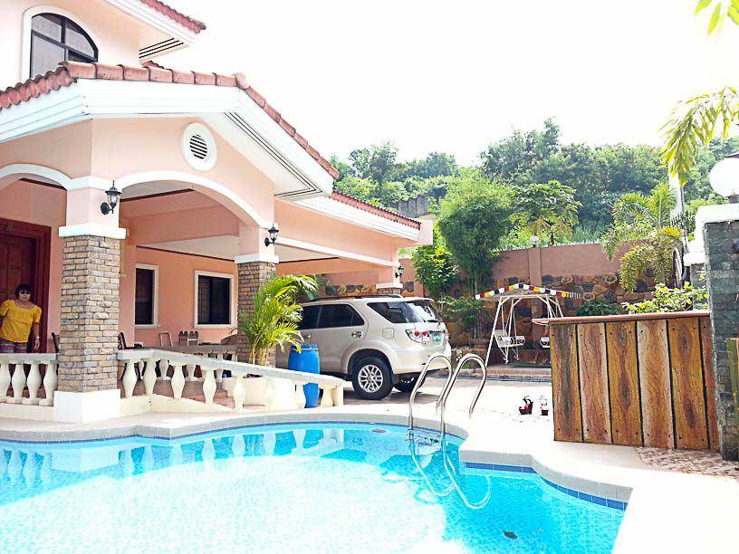 Rh190 4 Bedroom House With Swimming Pool For In Cebu City T