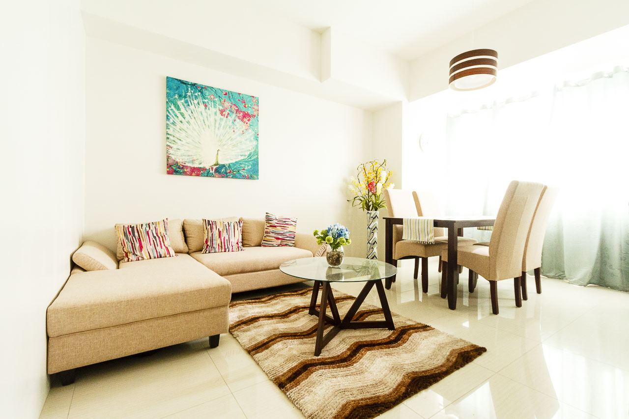 New 1 bedroom condo for rent in cebu business park for I bedroom condo for rent
