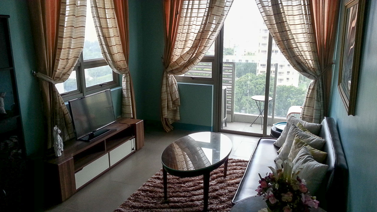 Furnished 1 bedroom condo for rent in cebu it park cebu for 1 bedroom condo for rent