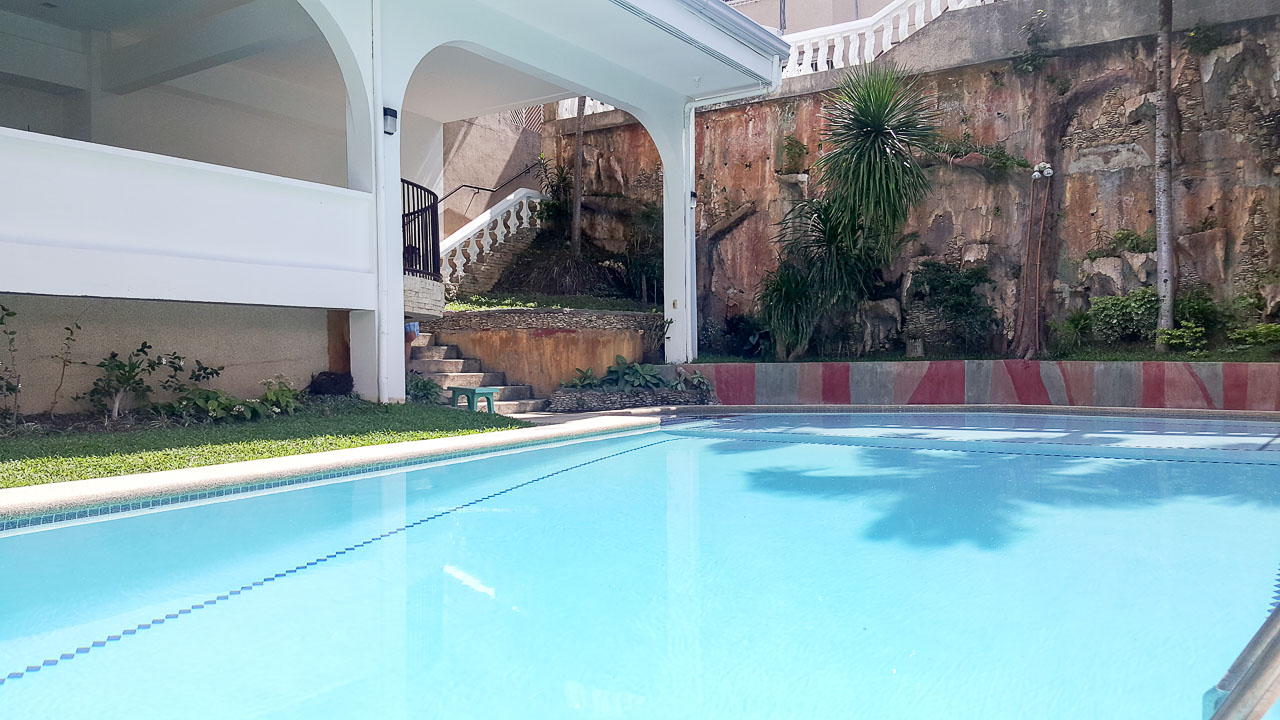 House with swimming pool for rent in maria luisa estate park for House with swimming pool for rent in quezon city