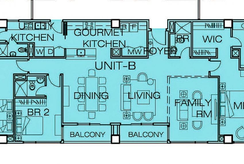 SRB92 3 Bedroom Condo for Sale in Cebu Business Park 1016 Reside