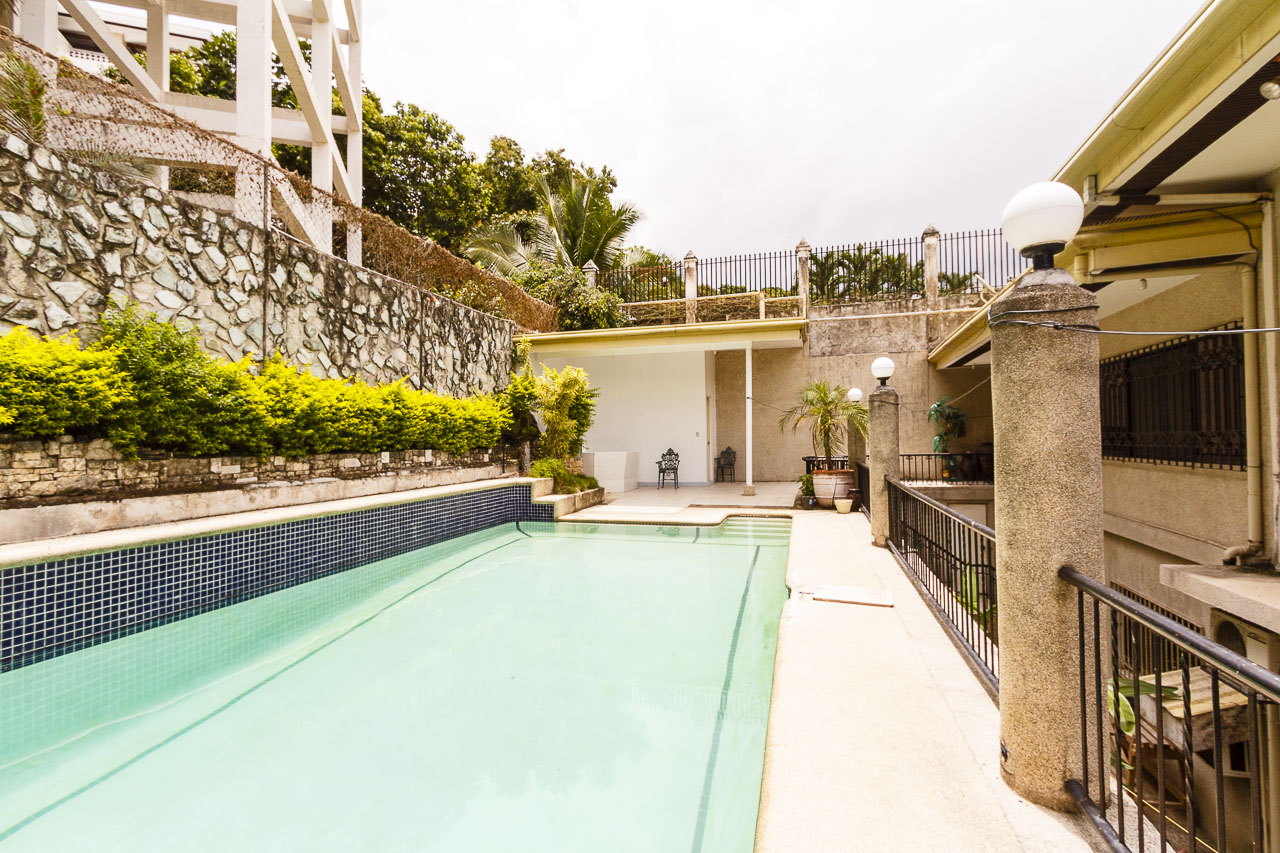 House with swimming pool for rent in maria luisa cebu for 5 bedroom house with pool