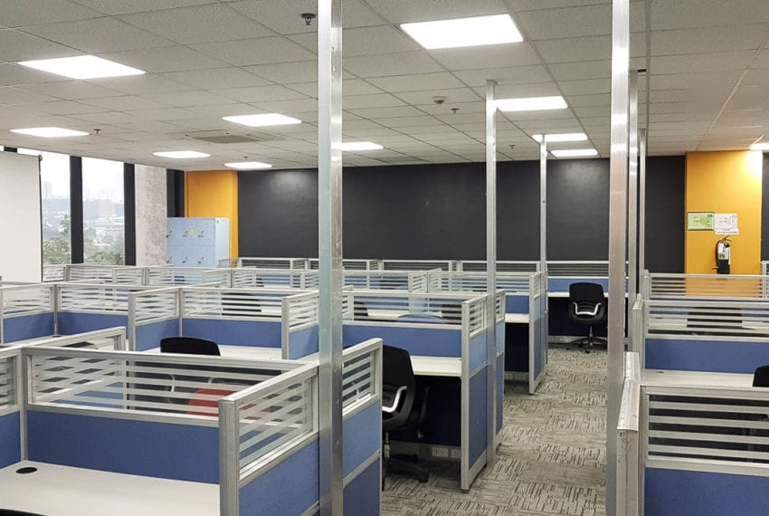 RCP156B 551 SqM Fitted Office Space for Rent in Cebu Business Pa