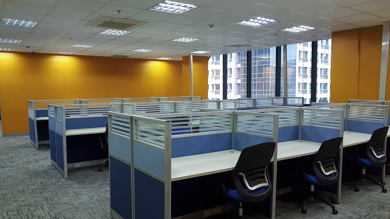 480 sqm fitted office space for rent in cebu business park cebu grand realty - Small business spaces for rent set ...