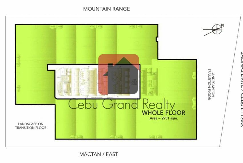SC16 Grade A Office Space for Sale in Cebu City - Floor Plan - C