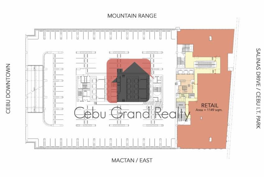 SC21 1149 SqM Retail Space for Sale near Cebu IT Park Ceb