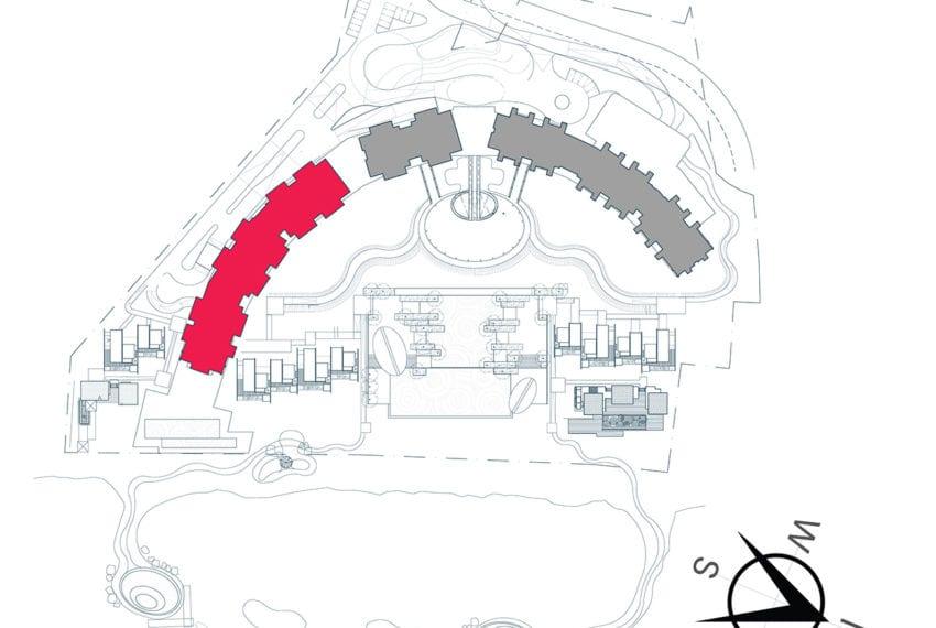 Building Location Map - UNIT O