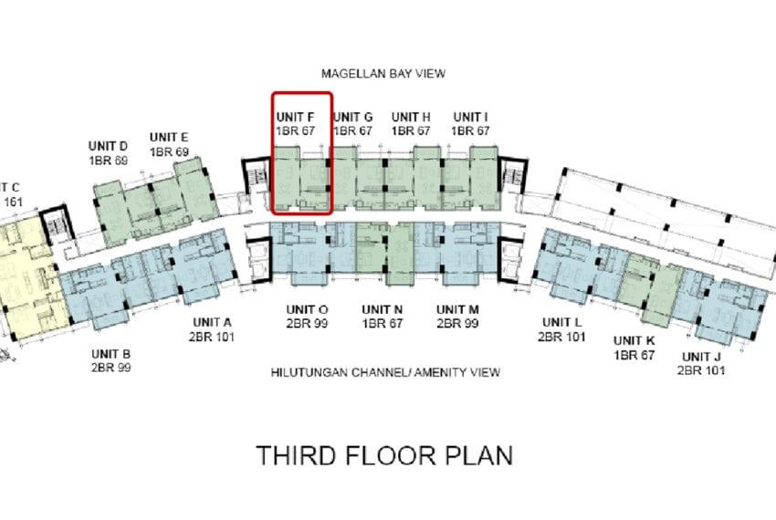 Building floor Plan - UNIT F
