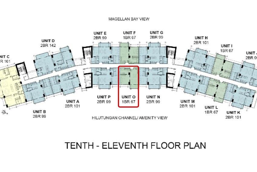 Building floor Plan - UNIT O