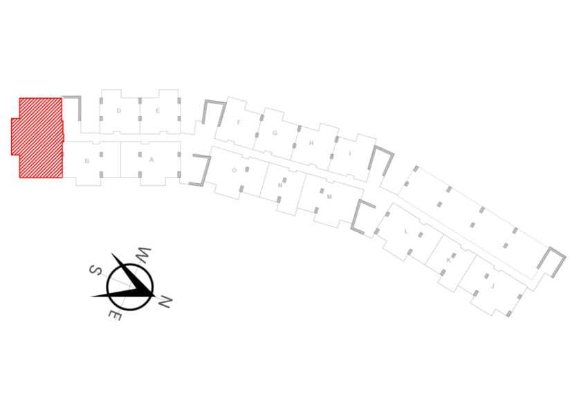 UNIT LOCATION MAP - UNIT C