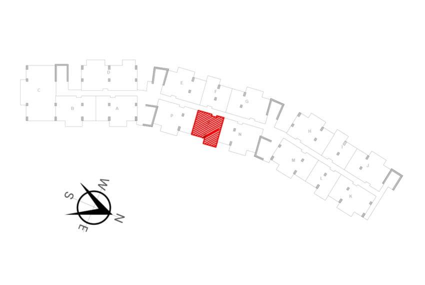 UNIT LOCATION MAP - UNIT O