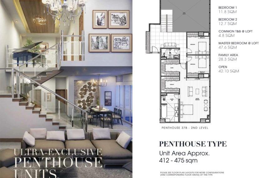 Luxury Penthouse for Sale in 38 Park Avenue in Cebu IT Park