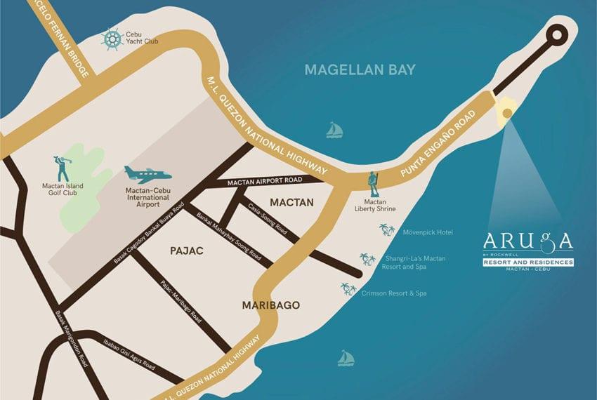 SRD56 Beachfront 1 Bedroom Condo for Sale in Aruga Resort and Residences – Mactan - Cebu Grand Realty (4)