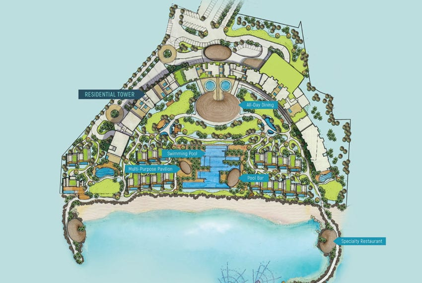 SRD56 Beachfront 1 Bedroom Condo for Sale in Aruga Resort and Residences – Mactan - Cebu Grand Realty (5)
