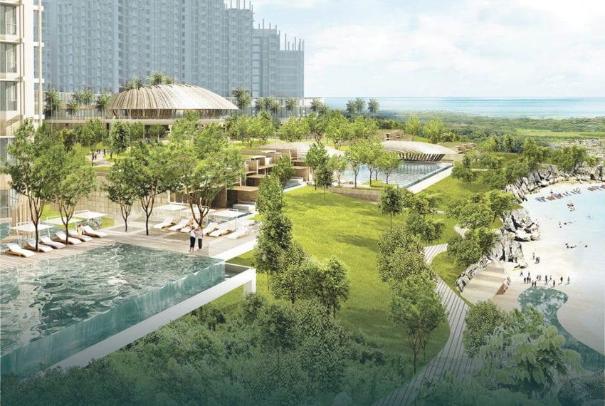 SRD56 Beachfront 1 Bedroom Condo for Sale in Aruga Resort and Residences – Mactan - Cebu Grand Realty (8)