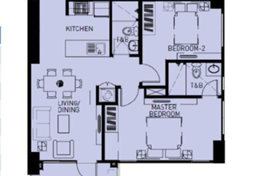SRBS2 2 Bedroom Condo for Sale in Cebu Business Park Cebu Grand Realty-9
