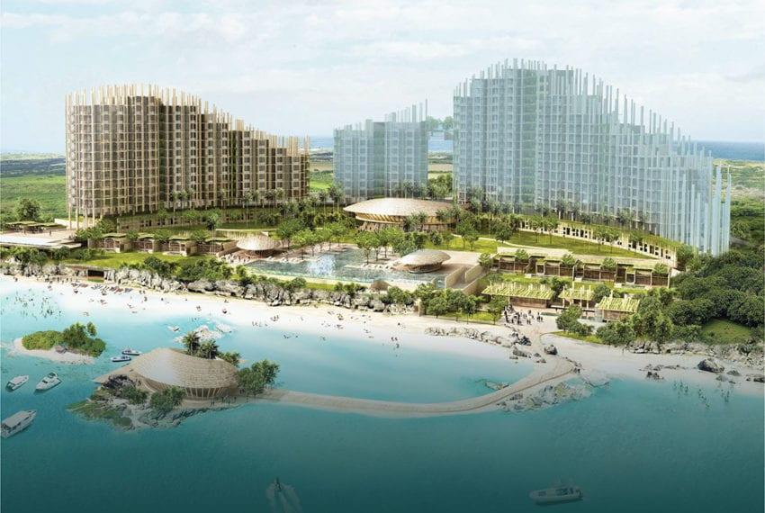 SRD56 Beachfront 2 Bedroom Condo for Sale in Aruga Resort and Residences – Mactan - Cebu Grand Realty (2)