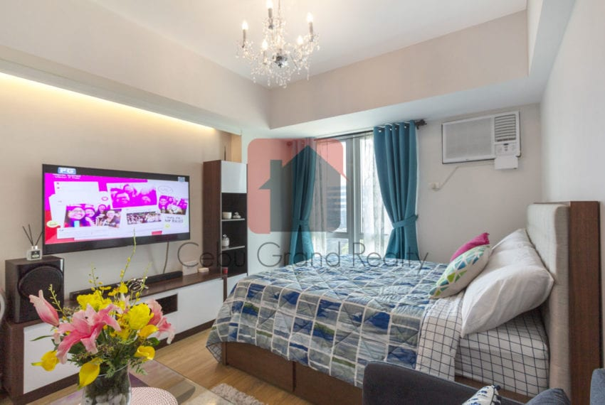 RCS12 Furnished Studio for Rent in Solinea Towers Cebu Grand Rea