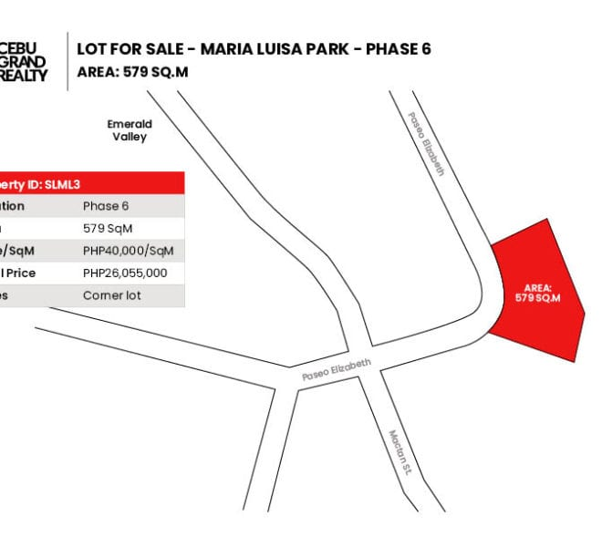 Lot for Sale in Maria Luisa Park