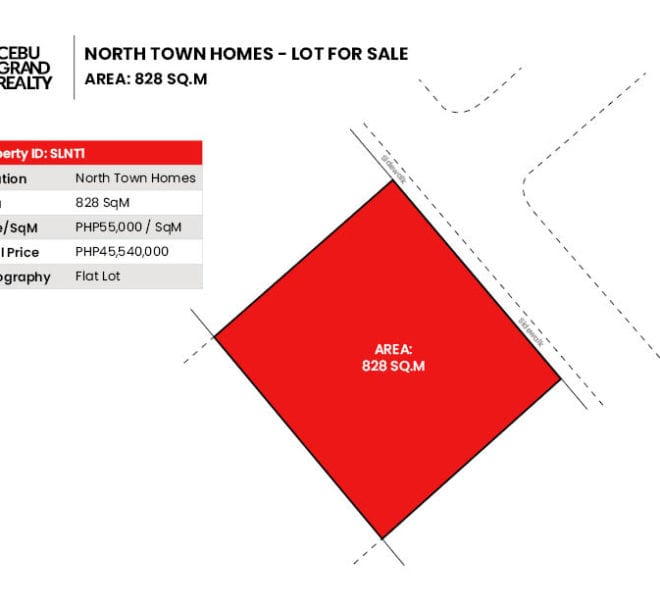 Lot for Sale in North Town