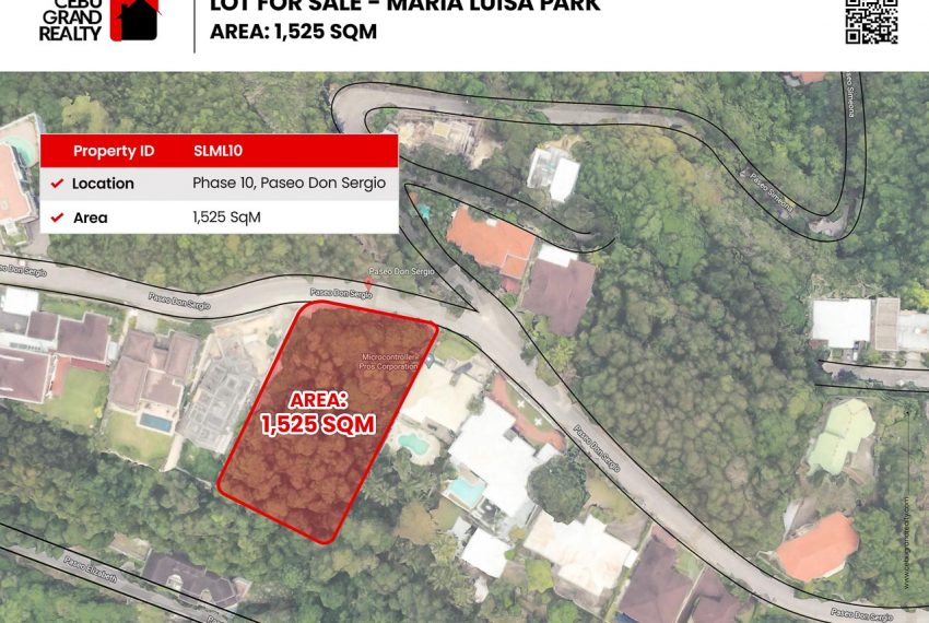 SLML10 1525 SqM Lot for Sale in Maria Luisa Park Cebu Grand Realty (2)