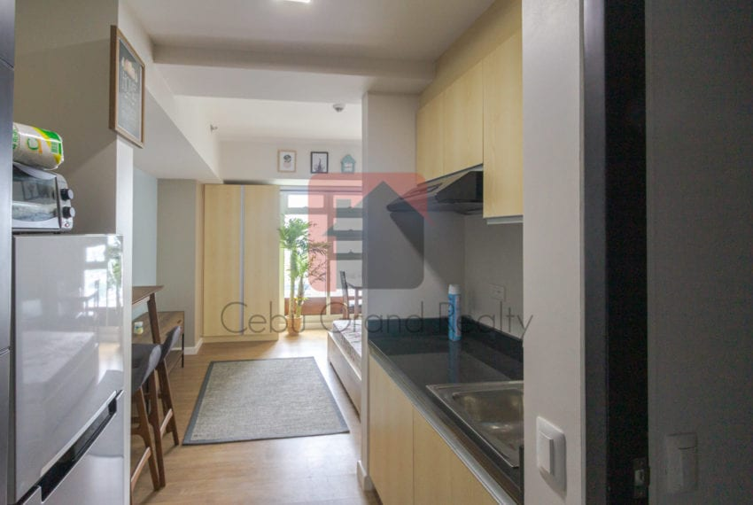 RCS14A Studio Condo for Rent in Solinea Towers Cebu Business Par