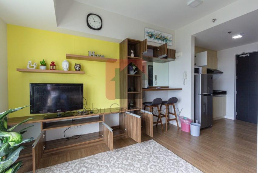 RCS14B Studio Condo for Rent in Solinea Towers Cebu Business Par