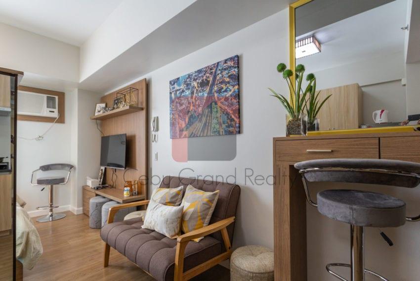 RCS15 Furnished Studio for Rent in Cebu Business Park Cebu Grand