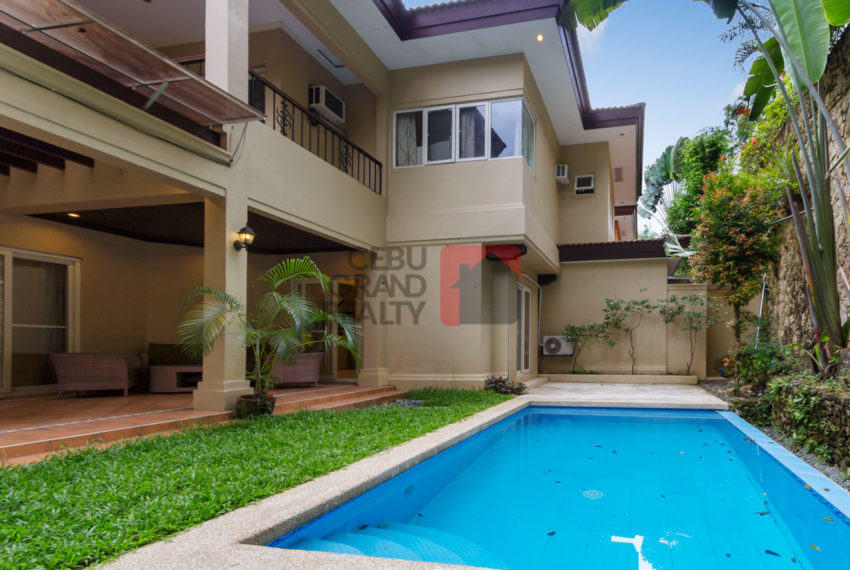 RHML33 Semi-Furnished 4 Bedroom House for Rent in Maria Luisa Pa