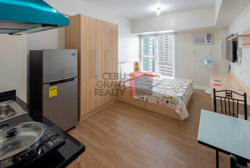 RCS19 Furnished Studio for Rent in Cebu Business Park - Cebu Gra