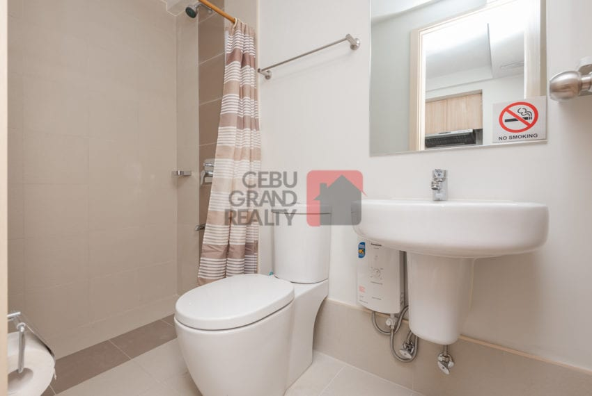 RCS21 Furnished Studio for Rent in Solinea Towers Cebu Grand Rea