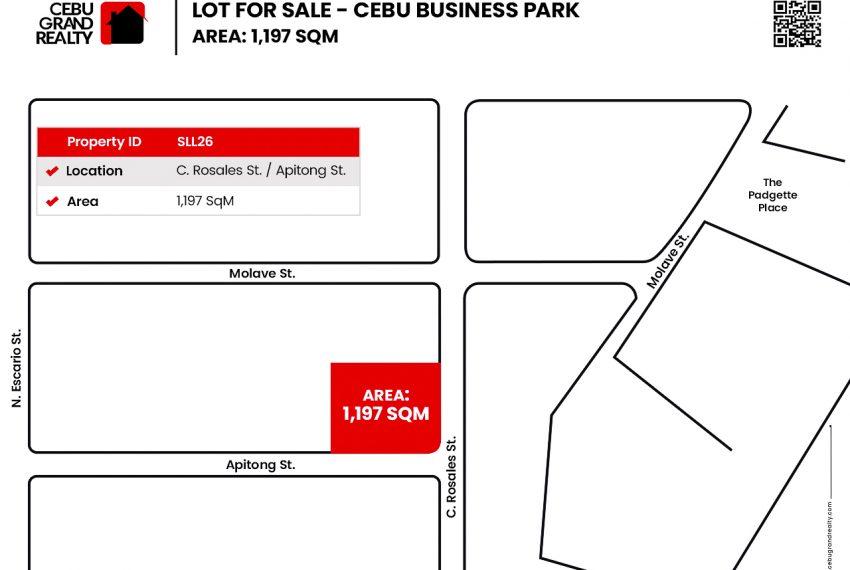 SLL26 - 1197 SqM Lot for Sale near Cebu Business Park - Cebu Grand Realty (2)
